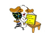 Dummy Book Dog