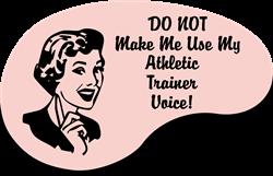 Athletic Trainer Voice Coffee Mug