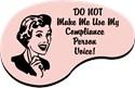 Compliance Small Mugs (11 oz)