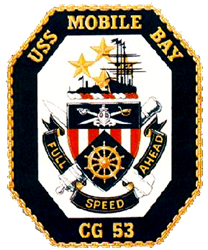 USS Mobile Bay CG-53 Navy Ship  Gifts