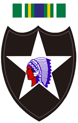 Army-2nd-Infantry-With-Korean- Decal Gifts