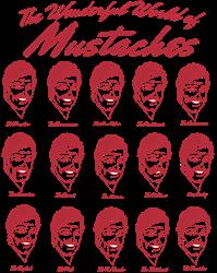 World of Mustaches Coffee Mug