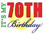70Th Birthday Men