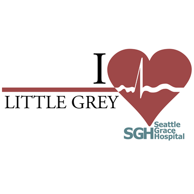 I Heart Little Grey - Grey's Anatomy