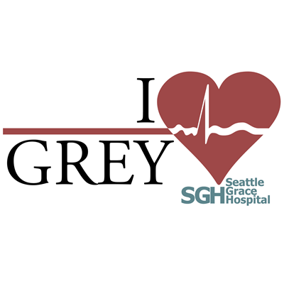 I Heart Grey - Grey's Anatomy