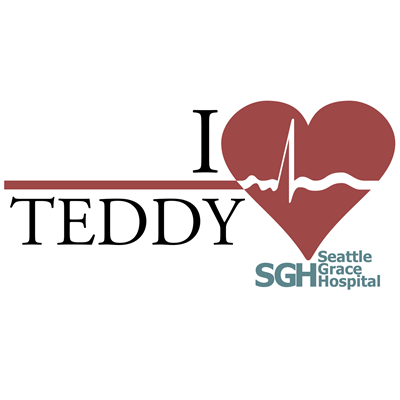 I Heart Teddy - Grey's Anatomy