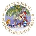 Alice in wonderland Junior Jersey T-shirt (dark)