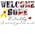 Welcome home daddy Pet Apparel