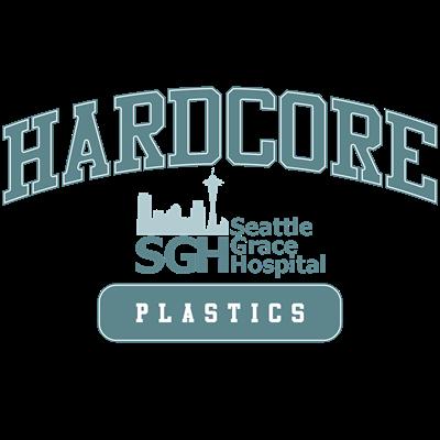 Hardcore Plastics SGH - Grey's Anatomy