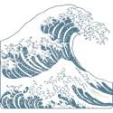 Hokusai Thong Underwear