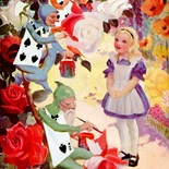 Tea Party Alice Wonderland
