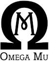 Omega mu Organic Women's Fitted T-Shirt (dark)