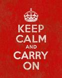 Keep Calm Carry