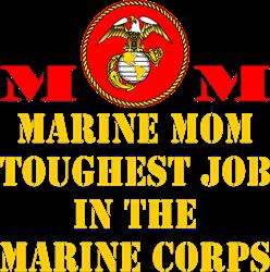 Marine Mom Tee
