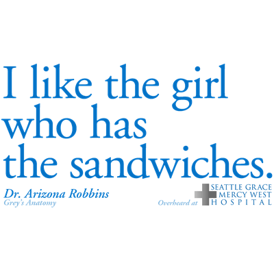 I Like the Girl Who Has the Sandwiches - SGMW