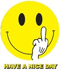 Have Nice Day Middle Finger