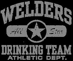 Welders Drinking Team Hoodie