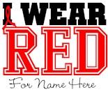 I Wear Red