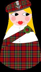 Scots Matryoshka-Style    Gifts