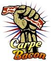 Carpe bacon Organic Kids T-Shirt