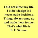 B F Skinner