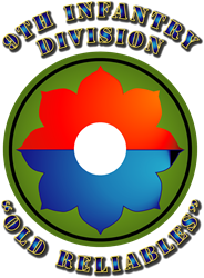 Army - SSI - 9th ry Division   Gifts