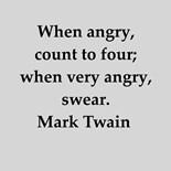 Mark Twain Quotation