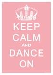 Keep Calm Carry Pink