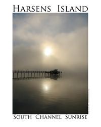 Harsens Island Sunrise Decal