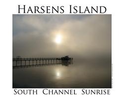 Harsens Island Sunrise 2 Decal