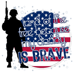 Land of the Free Cuz Daddy is Br Shirt