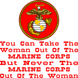 Woman Out Of The Corps