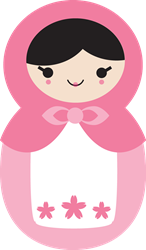 Matryoshka - Pink  Gifts
