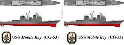 USS Mobile Bay (CG-53)  Gifts