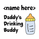 Drinking Buddy (Editable)