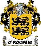 O'rourke Coat Arms