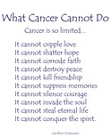 Cancer Cannot
