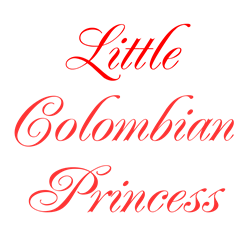 Little Colombian Princess