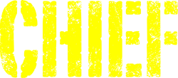 Chief yellow distressed print Coffee Mug