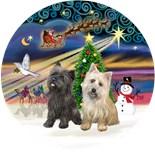 Brindle Cairn Terriers