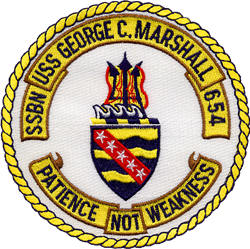USS GEORGE C. MARSHALL  Gifts