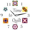 Quilting Wall Clocks