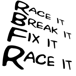 Race it Break it Fix it Race it Tee