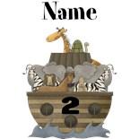 Noah's Ark First Birthday