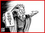 Ten Commandments Greeting