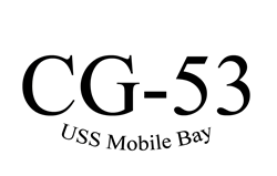 CG-53 USS Mobile Bay Decal Gifts