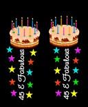 45 Birthday