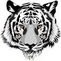 White tiger Rectangle