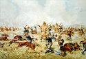 Custer massacre Patches