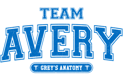 Grey's Anatomy Team Avery